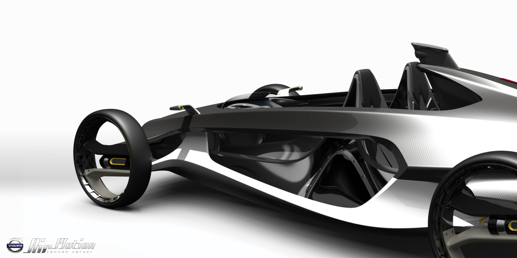 Volvo Air Motion A Race Car For The Future Autoevolution