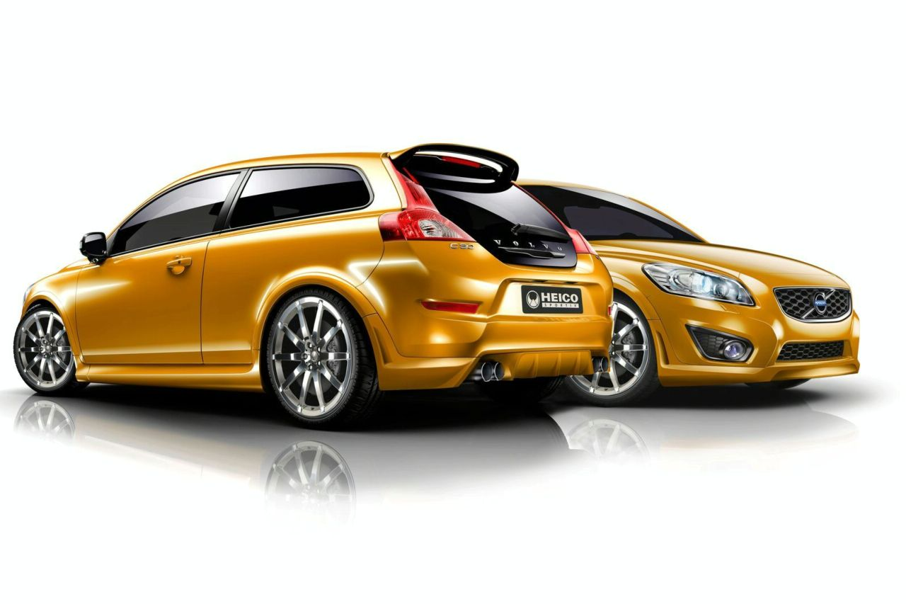 Volvo C30 1.6D DRIVe Facelift Got Tuned - autoevolution