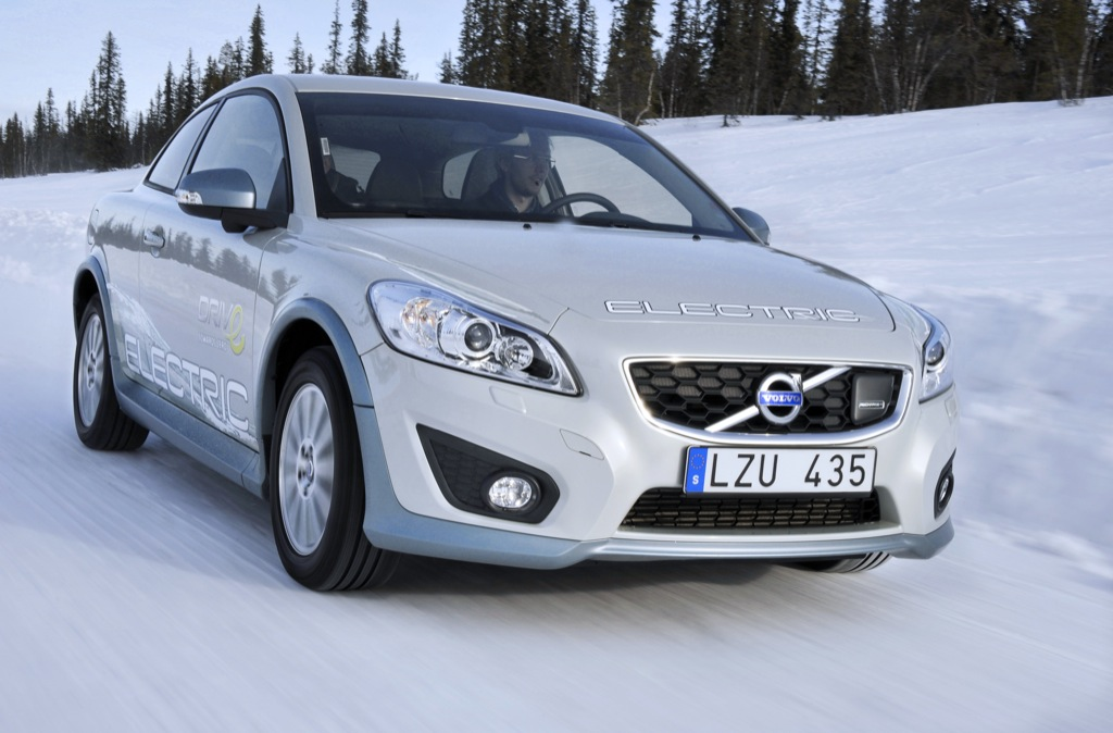 volvo c30 electric tested in extreme cold autoevolution. Black Bedroom Furniture Sets. Home Design Ideas