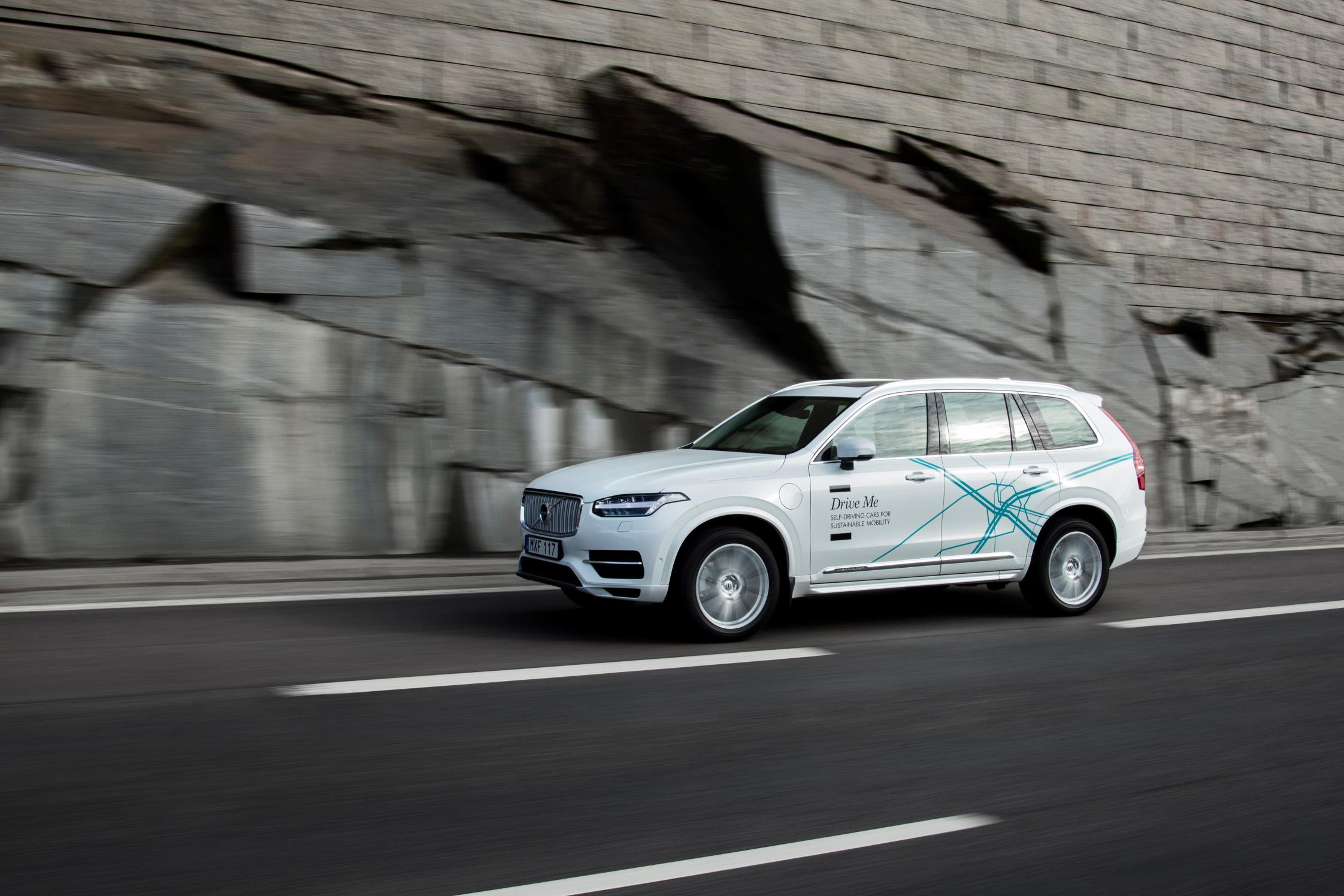Volvo Wants To Run The Biggest Autonomous Driving