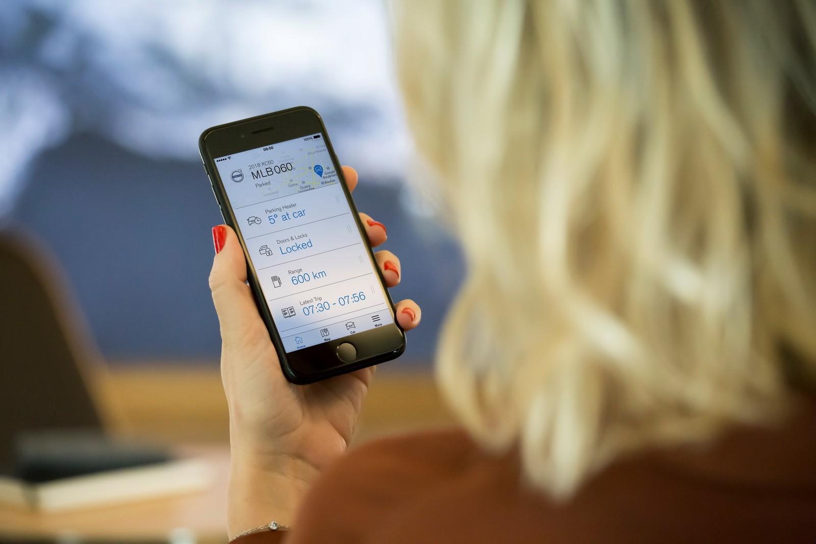 Volvo Updates Sensus Infotainment System, Smartphone App