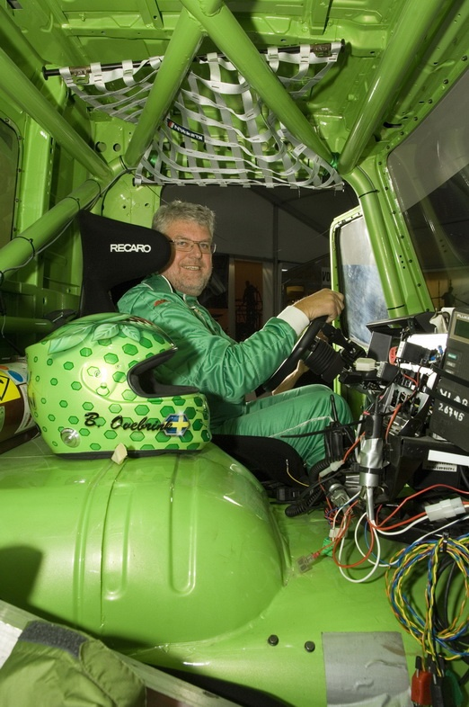 Volvo Mean Green Truck To Attempt Speed Record on Green Dodge Truck