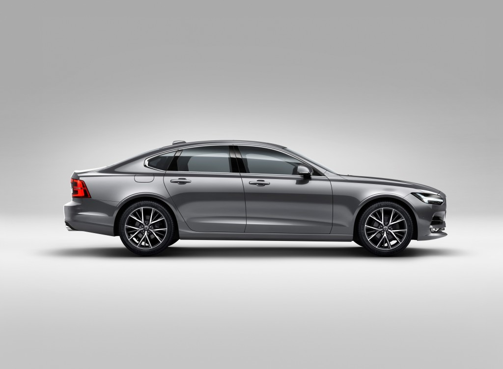 2016 volvo s90 39 s full specifications revealed autoevolution. Black Bedroom Furniture Sets. Home Design Ideas