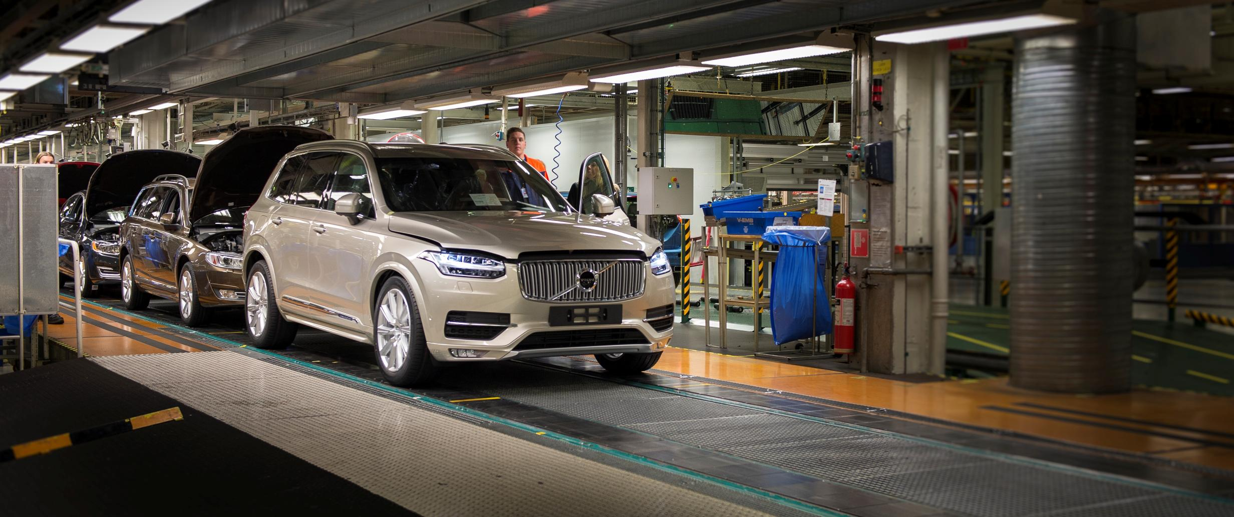 Volvo Opening First US Factory in South Carolina ...