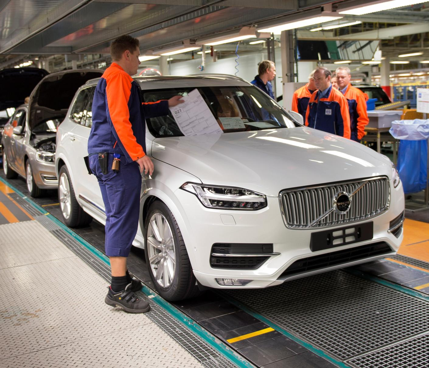 Volvo Opening First US Factory In South Carolina