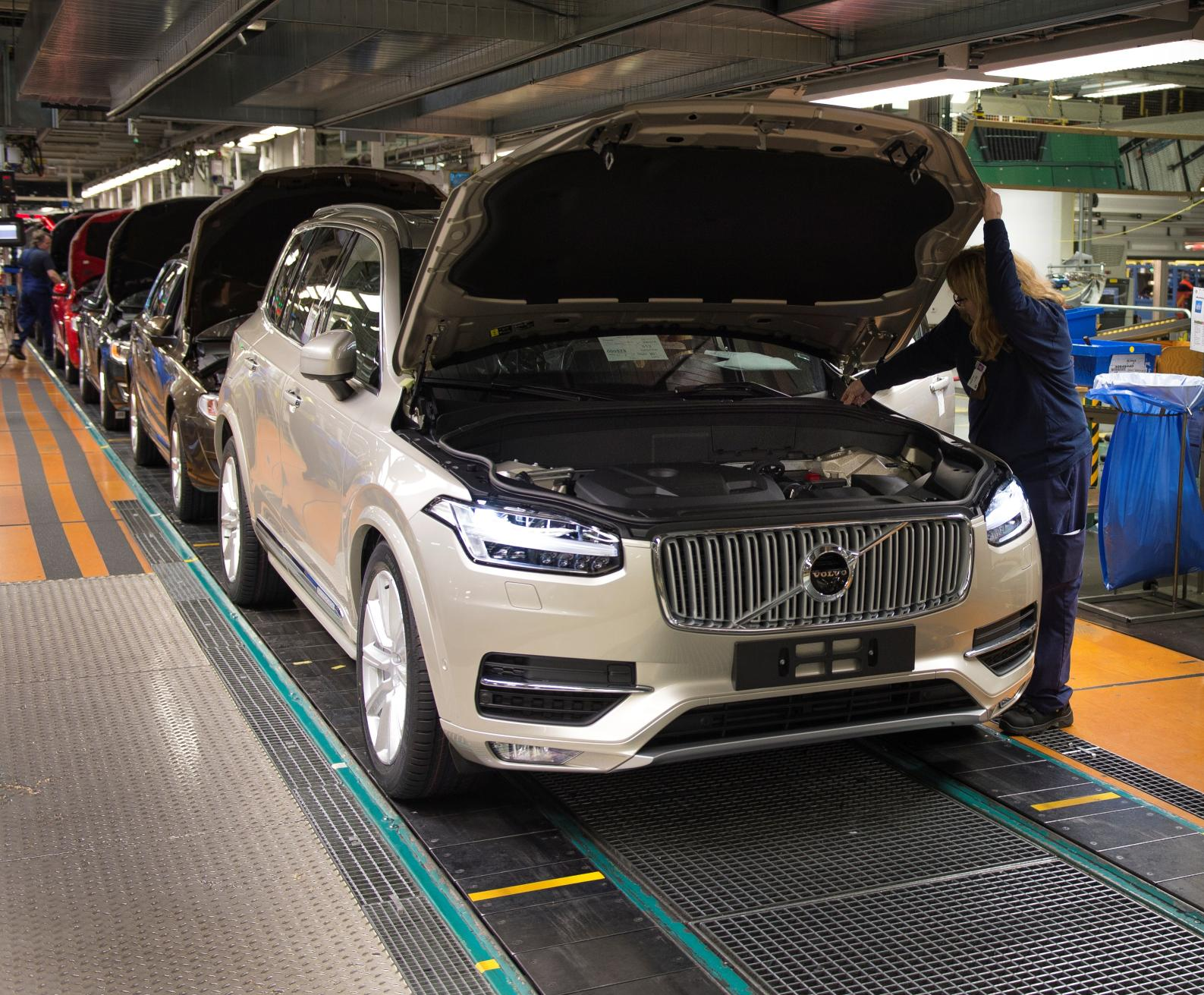 Volvo Opening New Factory In South Carolina Production Will Start 2018