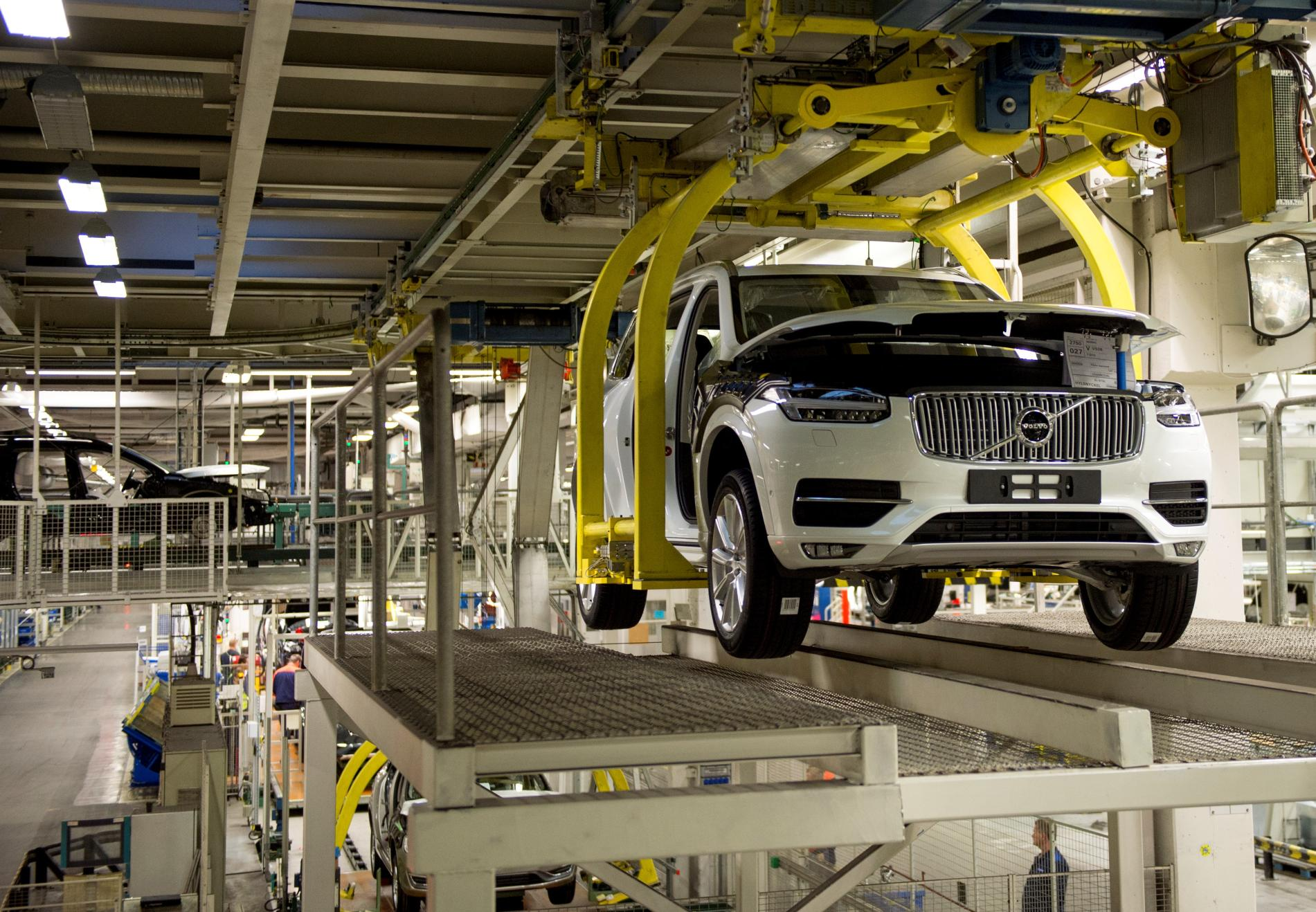 Volvo South Carolina >> Volvo Opening First US Factory in South Carolina: Production Will Start in 2018 - autoevolution