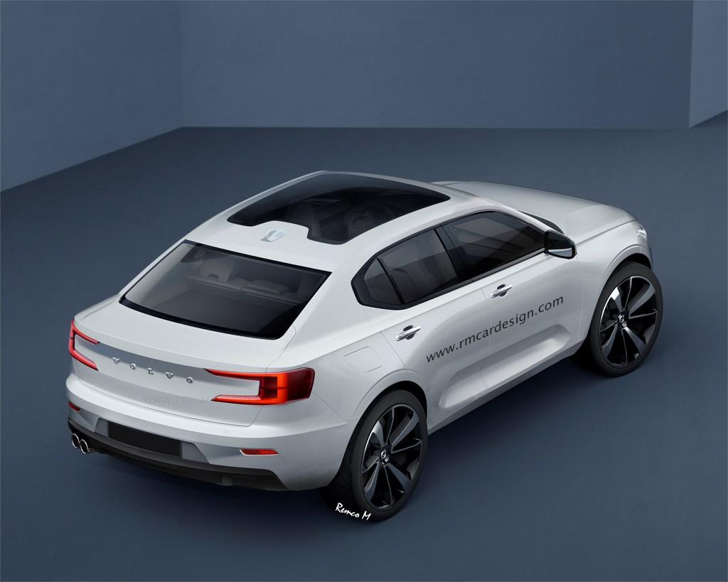 Volvo S40 Rendering is the Crossover Sedan of the Future - autoevolution