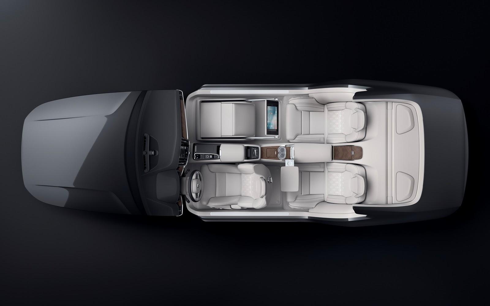 Volvo S90 Receives Lounge Interior Concept at Beijing Auto Show - autoevolution
