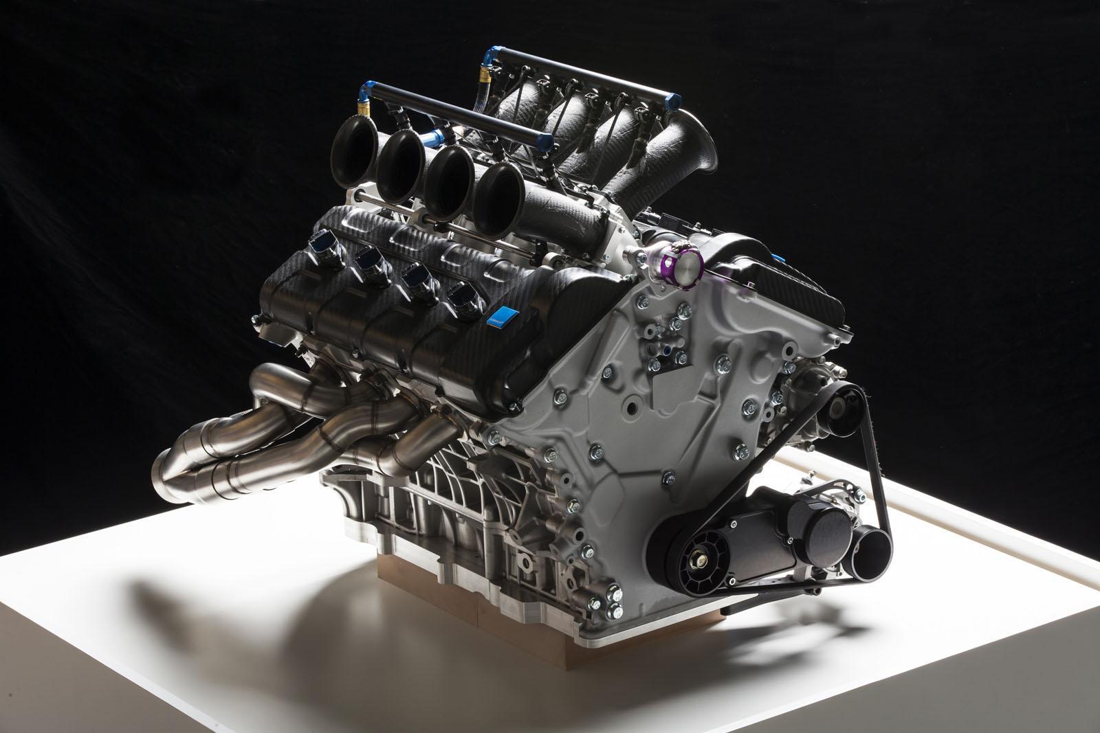 volvo shows 5 0 liter v8 engine for australian v8 supercar. Black Bedroom Furniture Sets. Home Design Ideas