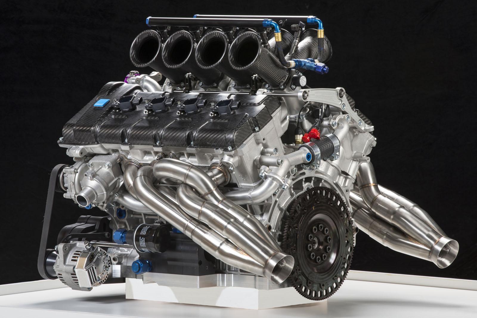 Volvo Shows 5.0-liter V8 Engine for Australian V8 Supercar Championship - autoevolution