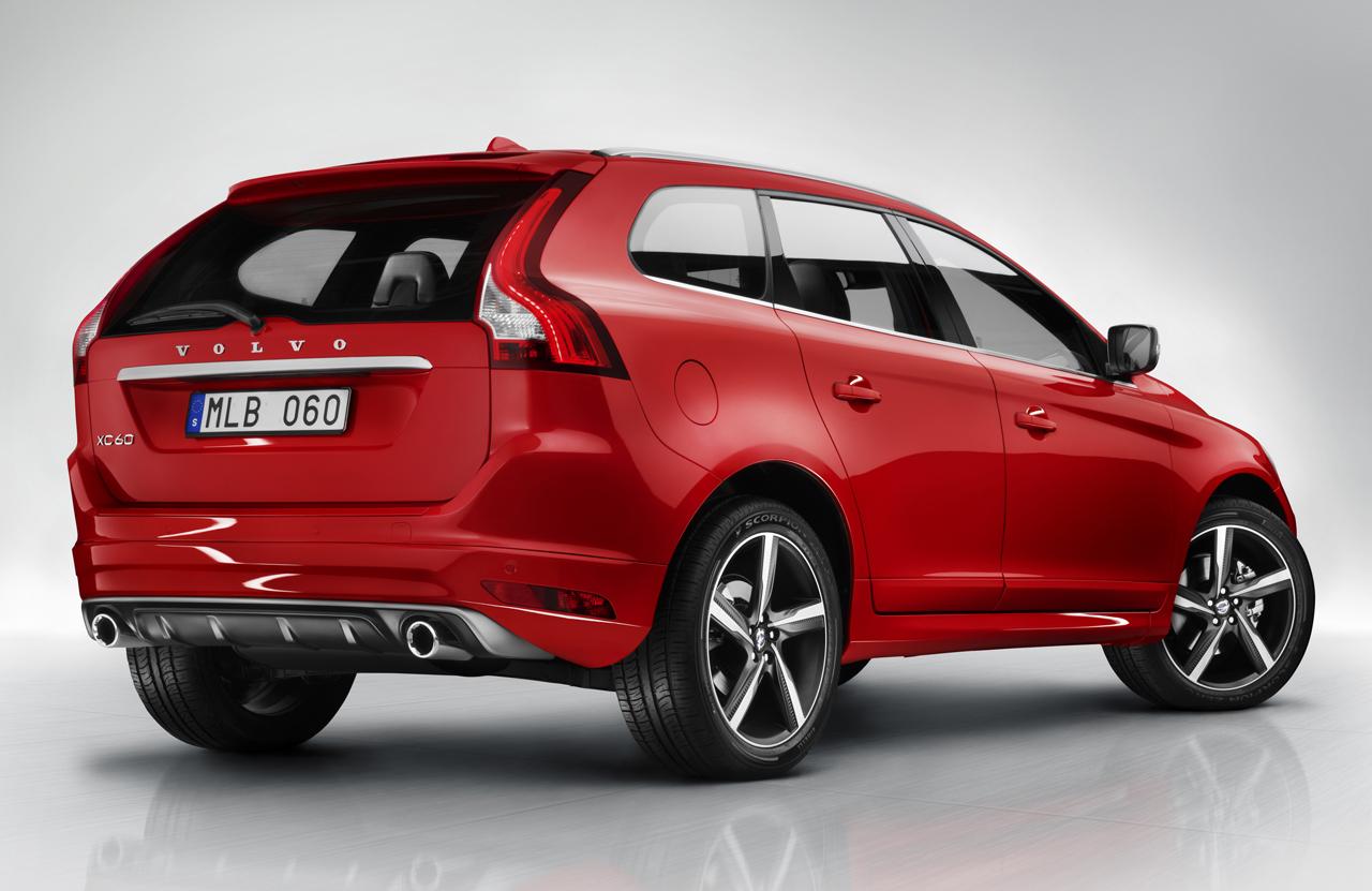 Volvo Shows R-Design S60, XC60 and V60 Models - autoevolution