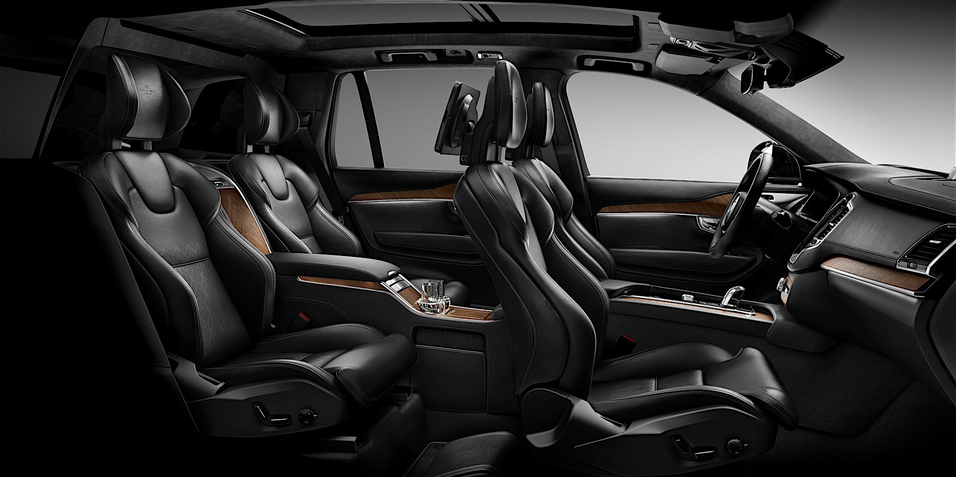 Volvo Starts Production Of Xc90 Excellence Updates Range
