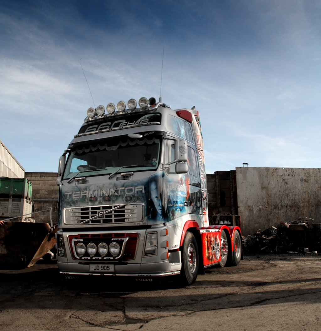volvo trucks offers a look inside terminator u0026 39 s cab