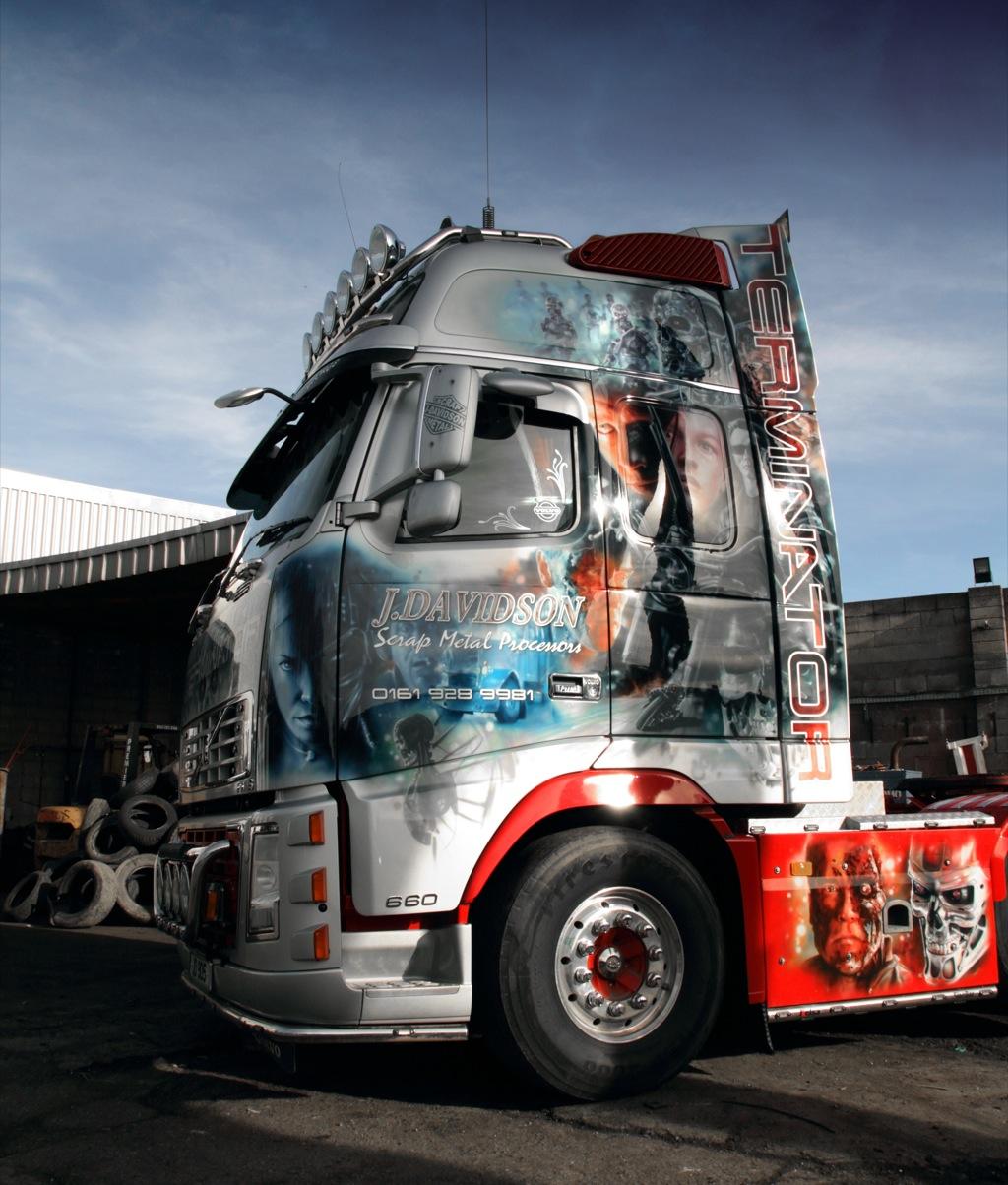 Volvo Trucks Offers a Look Inside Terminator's Cab - autoevolution