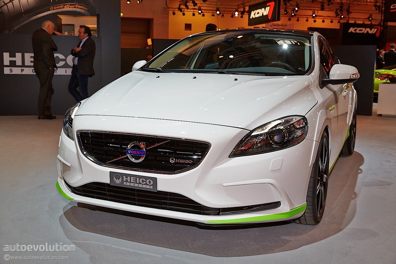 Volvo Tuner Heico Sportiv Brings a Trio of Swedes at Essen [Live Photos] - autoevolution