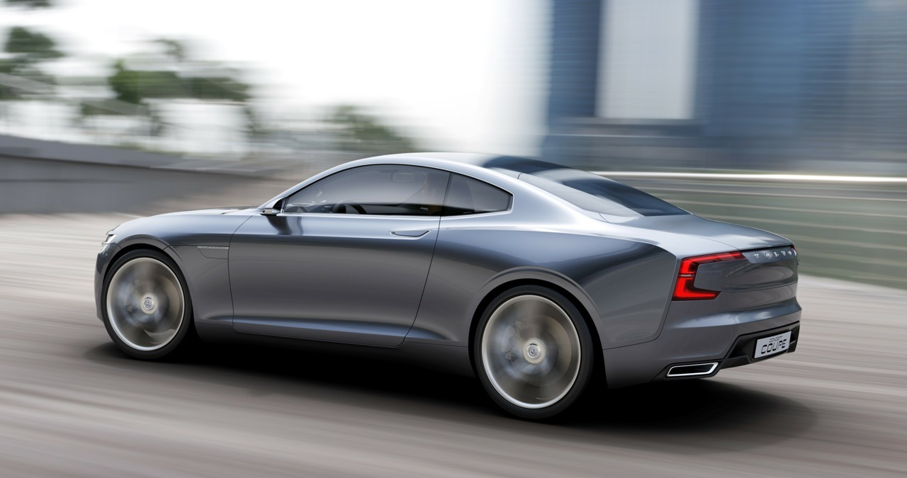 Volvo Unveils Concept Coupe The Next Generation P1800