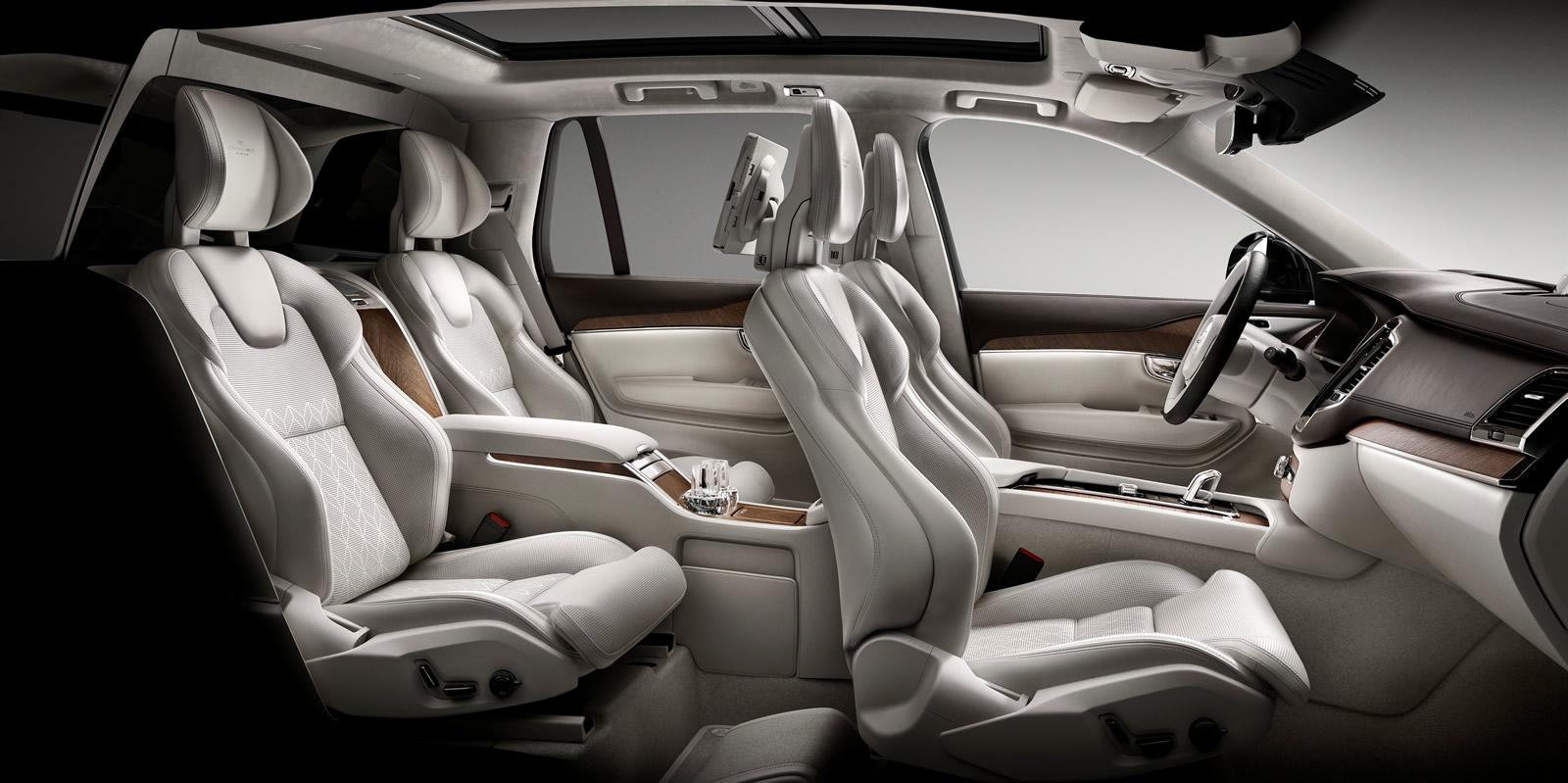 Bmw With 3Rd Row Seating >> Volvo Unveils XC90 Excellence 4-Seat Luxury SUV for ...