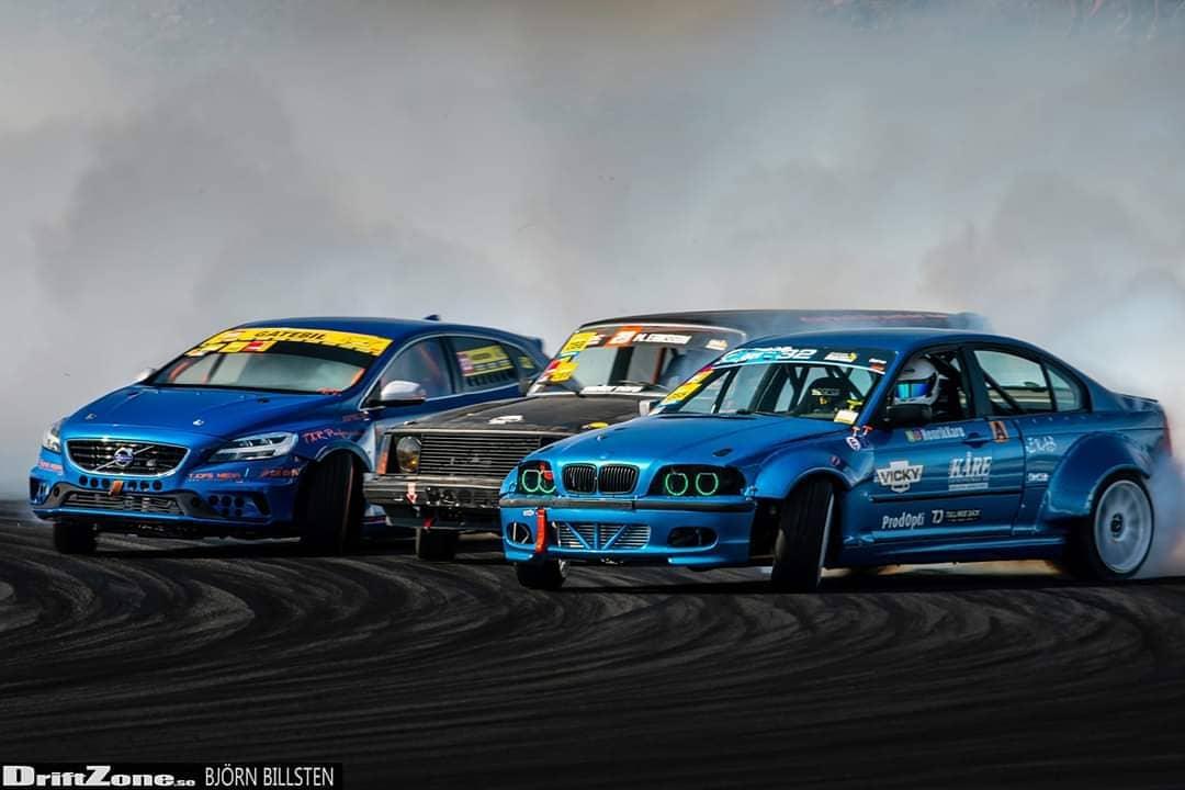 Volvo V40 Drift Car With BMW M5 V8 Is Just Crazy - autoevolution