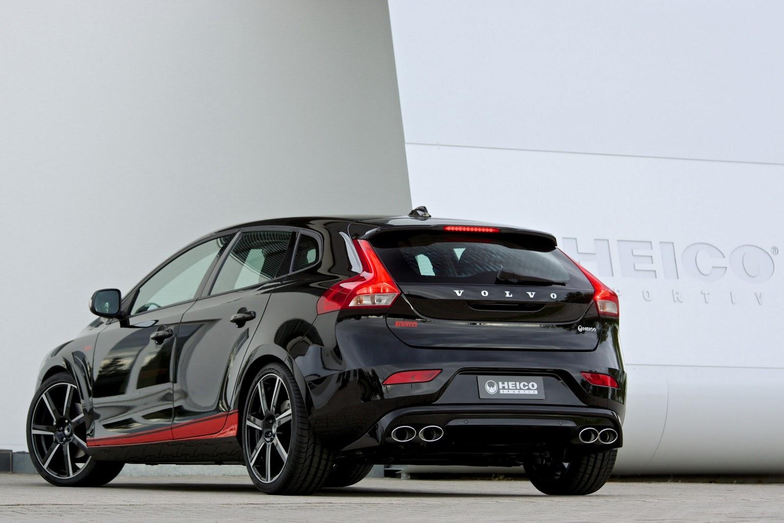 Volvo V40 Pirelli Edition By Heico Sportiv Autoevolution