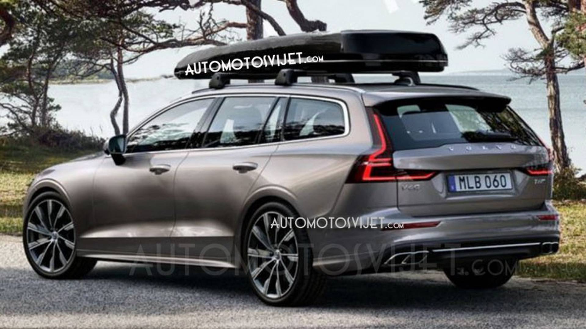 Volvo V60 leaked ahead of its debut in Geneva