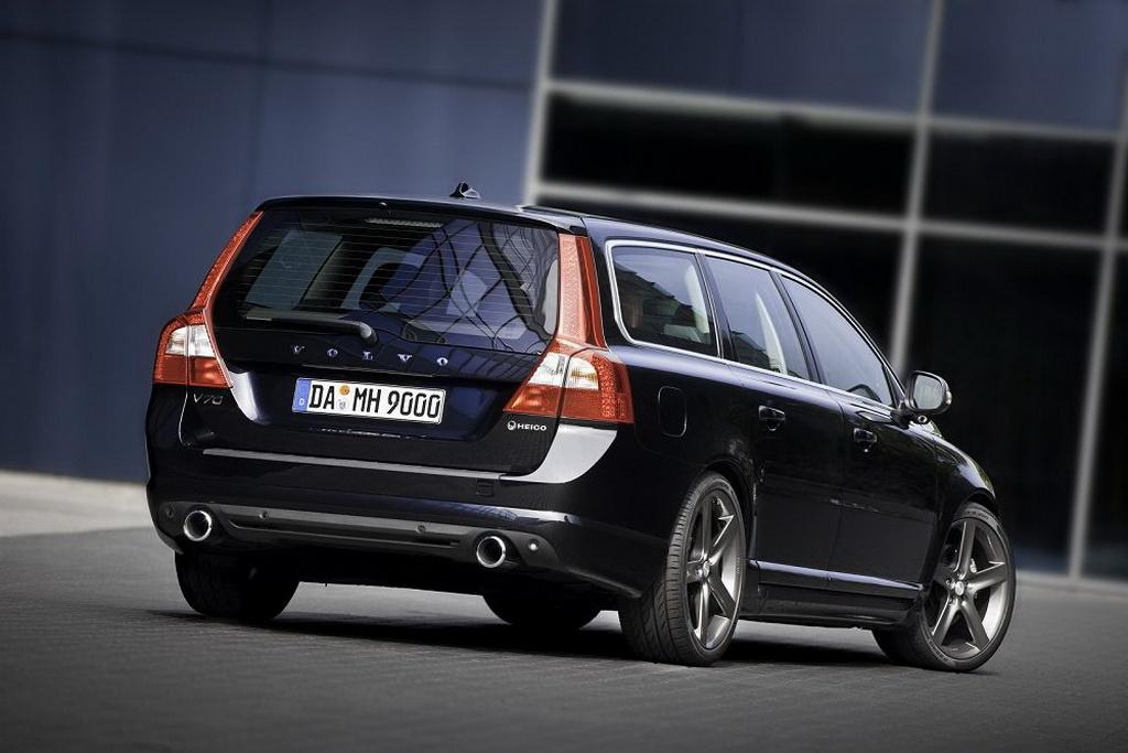 Volvo V70 T6 AWD R-Design from Heico - autoevolution