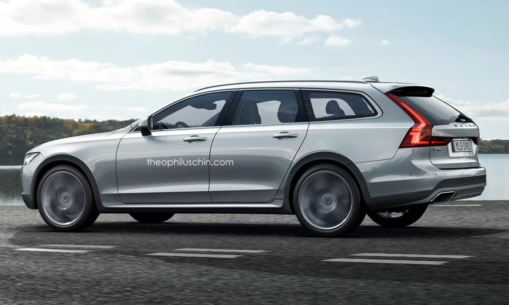 volvo v90 cross country rendered should be e reality