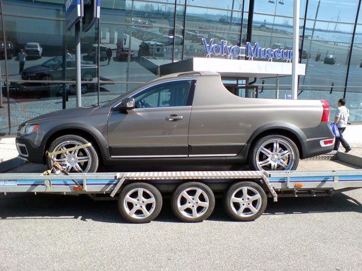 Volvo Xc60 6x6 >> Volvo Xc60 6x6 And Xc70 D5 Pickup Trucks Are Cool Autoevolution