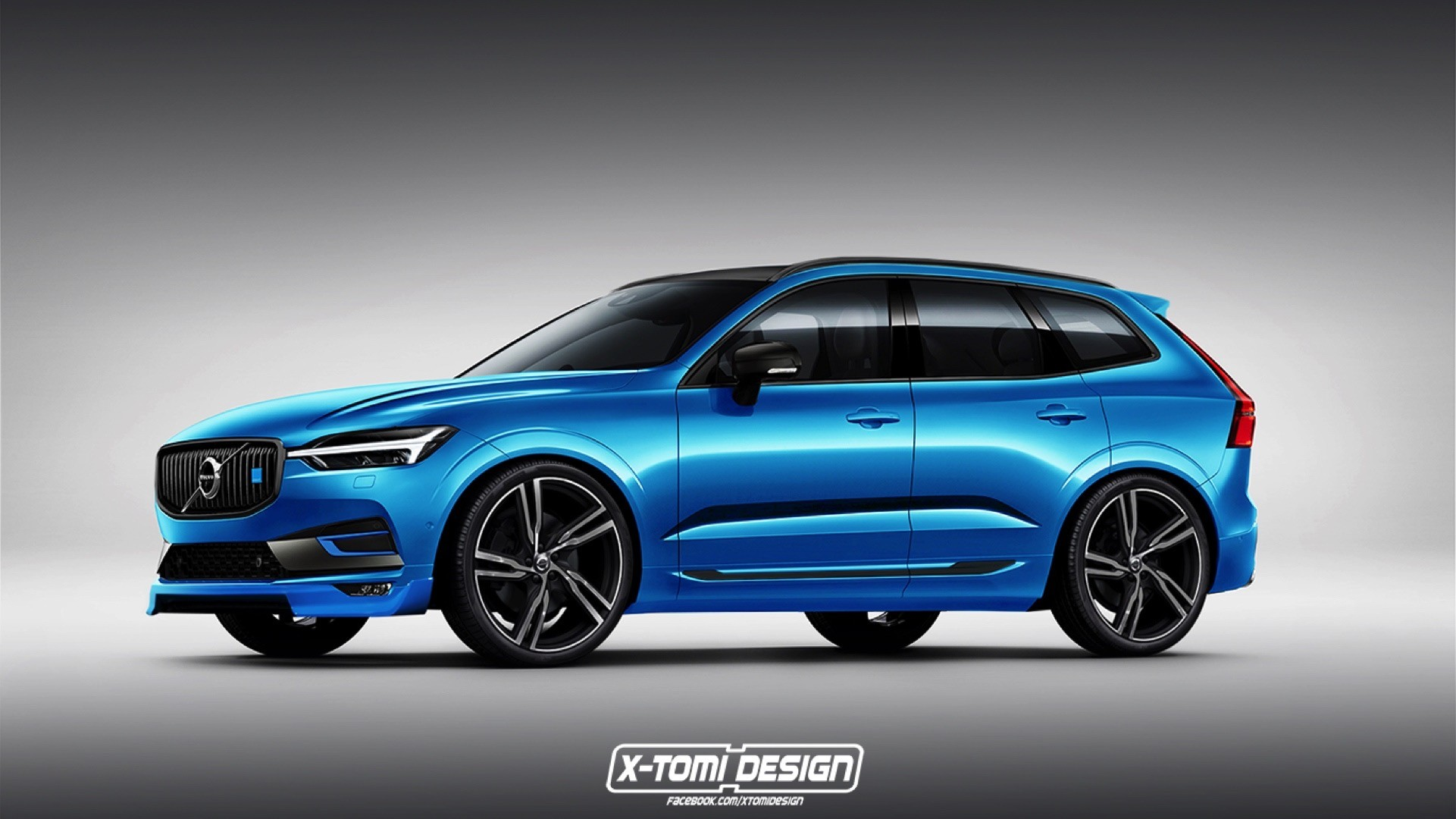 2018 volvo xc60 polestar digitally imagined but will it. Black Bedroom Furniture Sets. Home Design Ideas