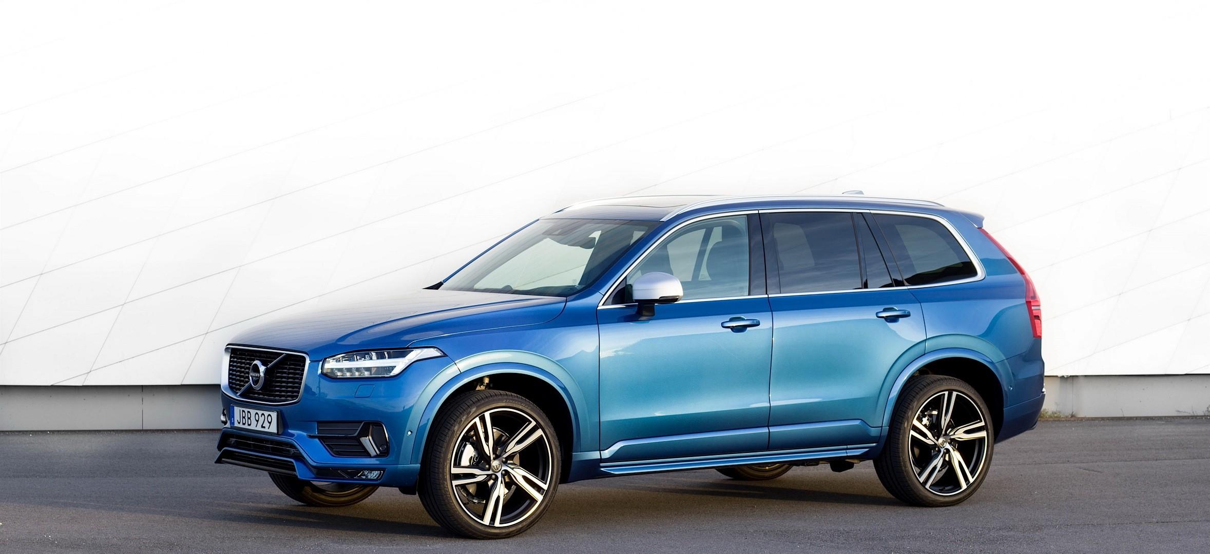 Volvo XC90 T6 R-Design Looks Good, Takes 100 KM/H Test With Polestar Kit - autoevolution