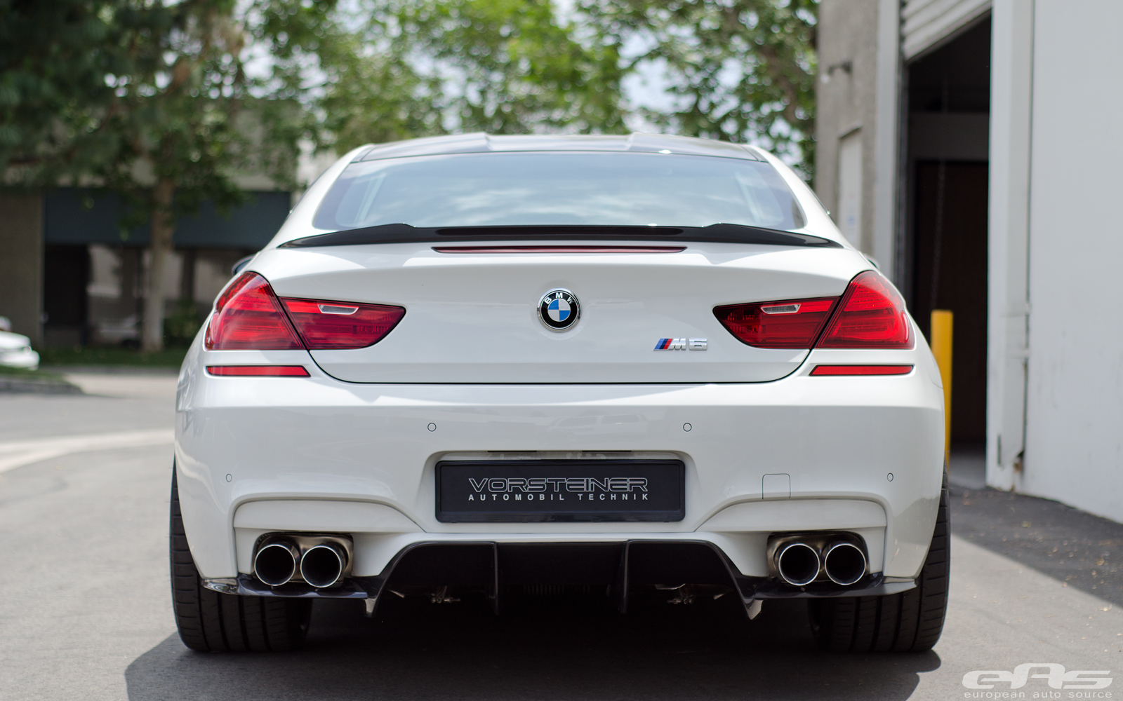 Vorsteiner Bmw F13 M6 Is Alpine White At Eas Autoevolution
