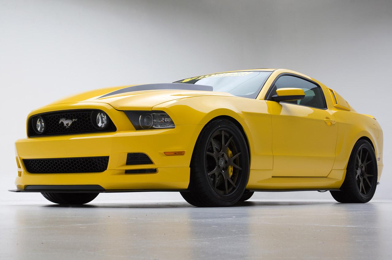 Orange 2015 Mustang >> Vortech Prepares an Orange 2015 Ford Mustang for SEMA - autoevolution