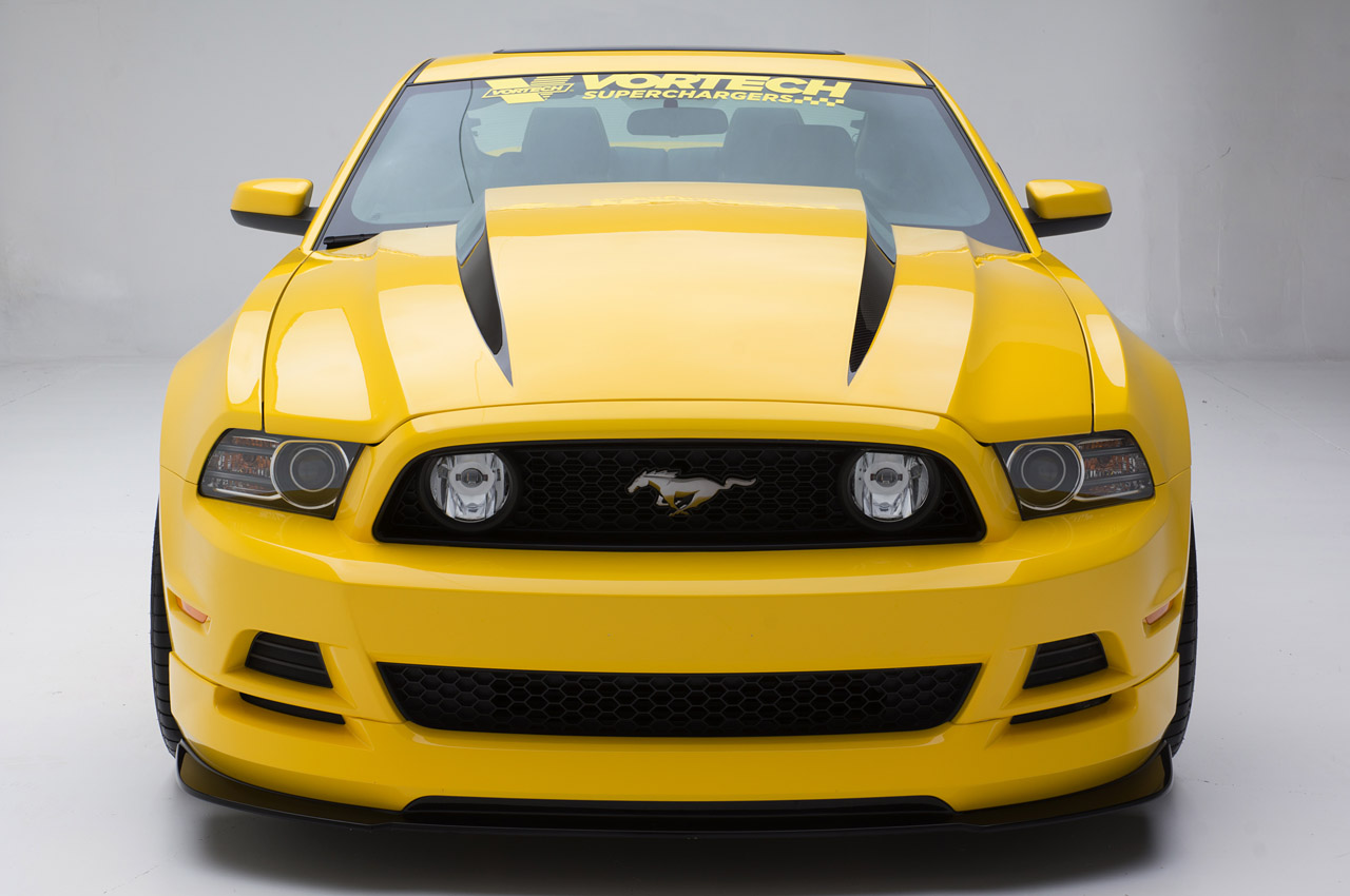 Vortech Prepares An Orange 2015 Ford Mustang For Sema