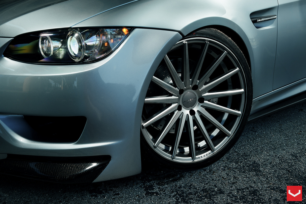 Vossen launches new vf series wheels and gets an m3 to show them off autoevolution