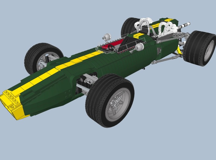 Vote Your Favorite F1 Car Kit and Lego Will Build It For ...