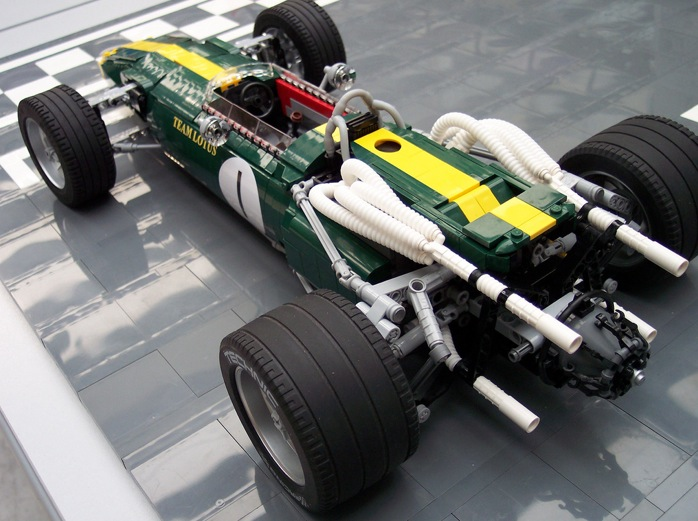Vote Your Favorite F1 Car Kit And Lego Will Build It For