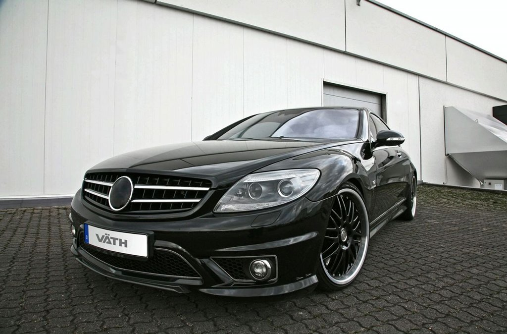 Vath performance mercedes cl 65 amg with 745 hp for Mercedes benz 745