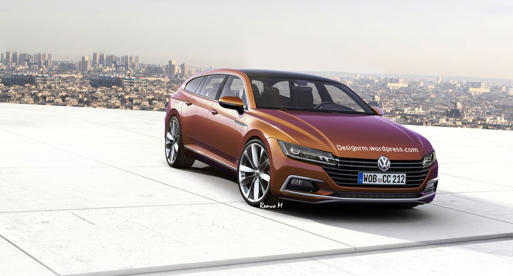 VW Arteon Shooting Brake Might Happen, Not Inspired by CLS-Class ...