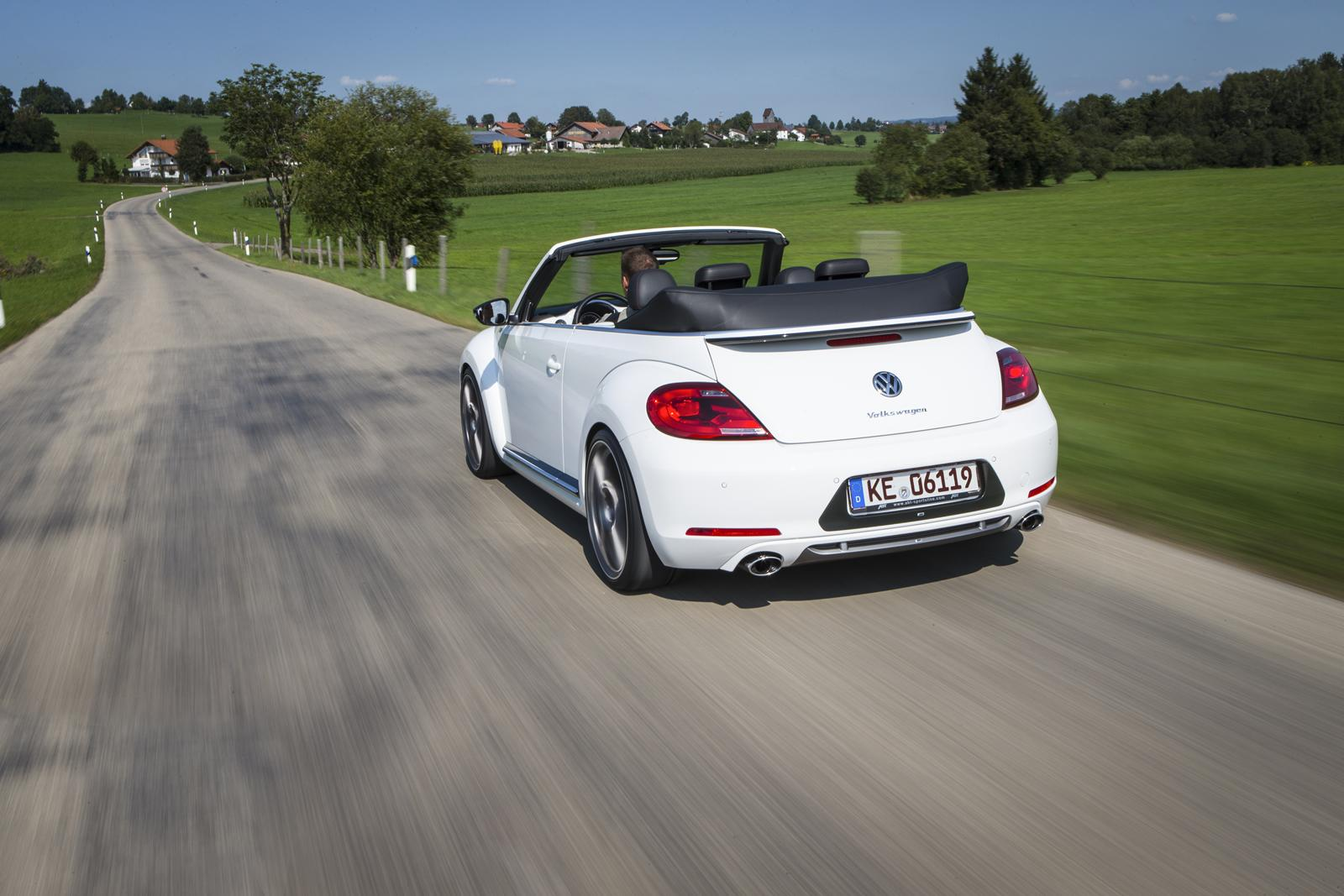 vw beetle cabrio tuned to 260 hp by abt autoevolution. Black Bedroom Furniture Sets. Home Design Ideas