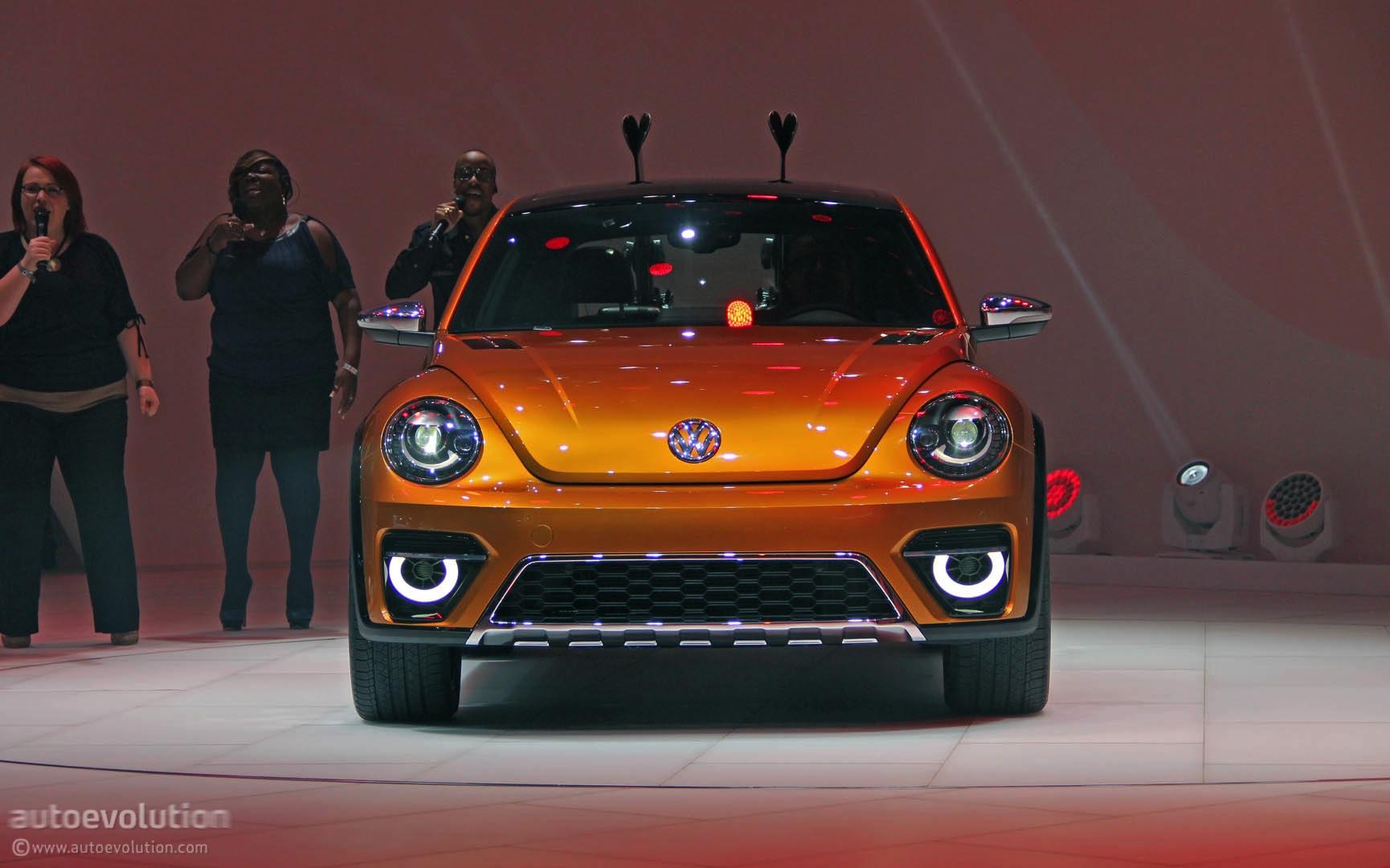 VW Beetle Dune Concept Is an Alltrack Bug [Live Photos] - autoevolution