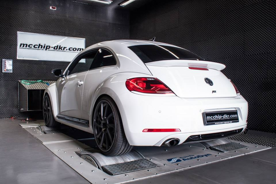 VW Beetle Gets 256 HP Performance Upgrade from Mcchip-DKR - autoevolution