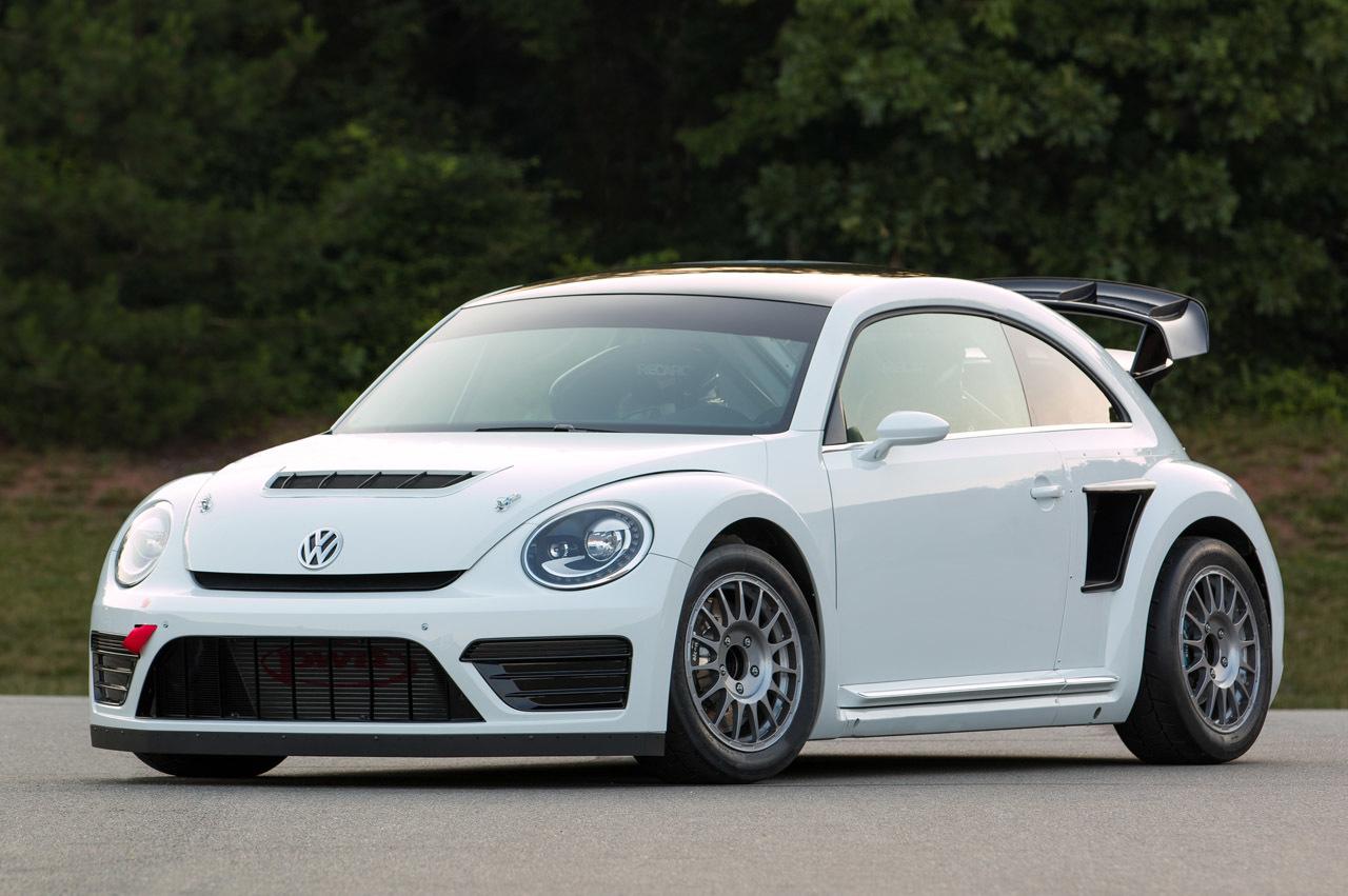 Punch Buggy Volkswagen >> VW Beetle GRC Is Herbie's RallyCross Brother - autoevolution