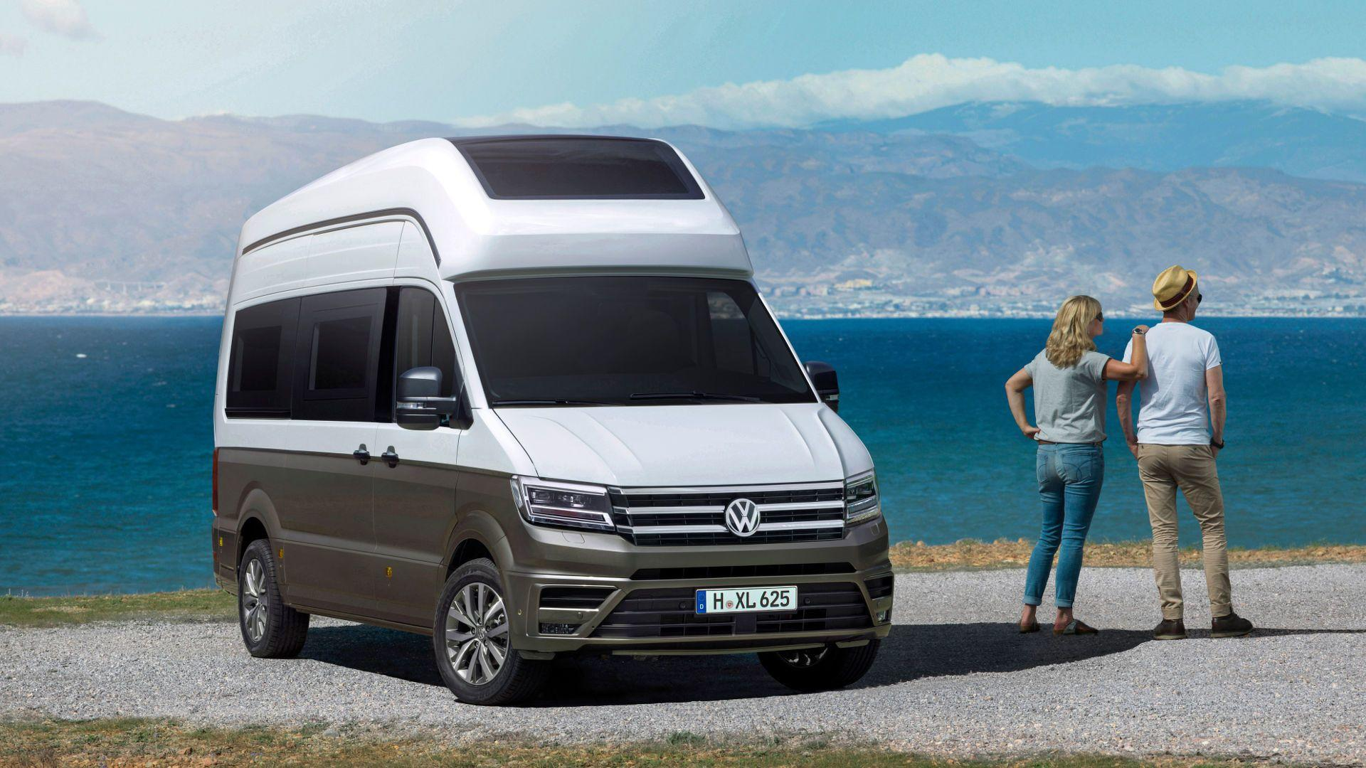 Volkswagen California XXL Concept Isn't Your Average Crafter - autoevolution