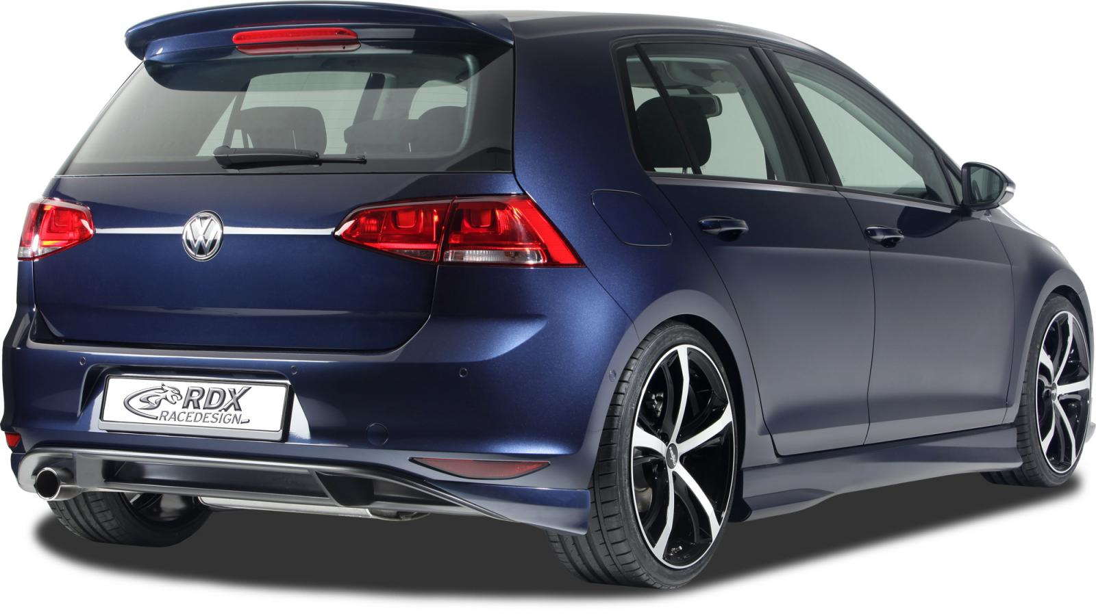vw golf 7 gets body kit from rdx autoevolution. Black Bedroom Furniture Sets. Home Design Ideas