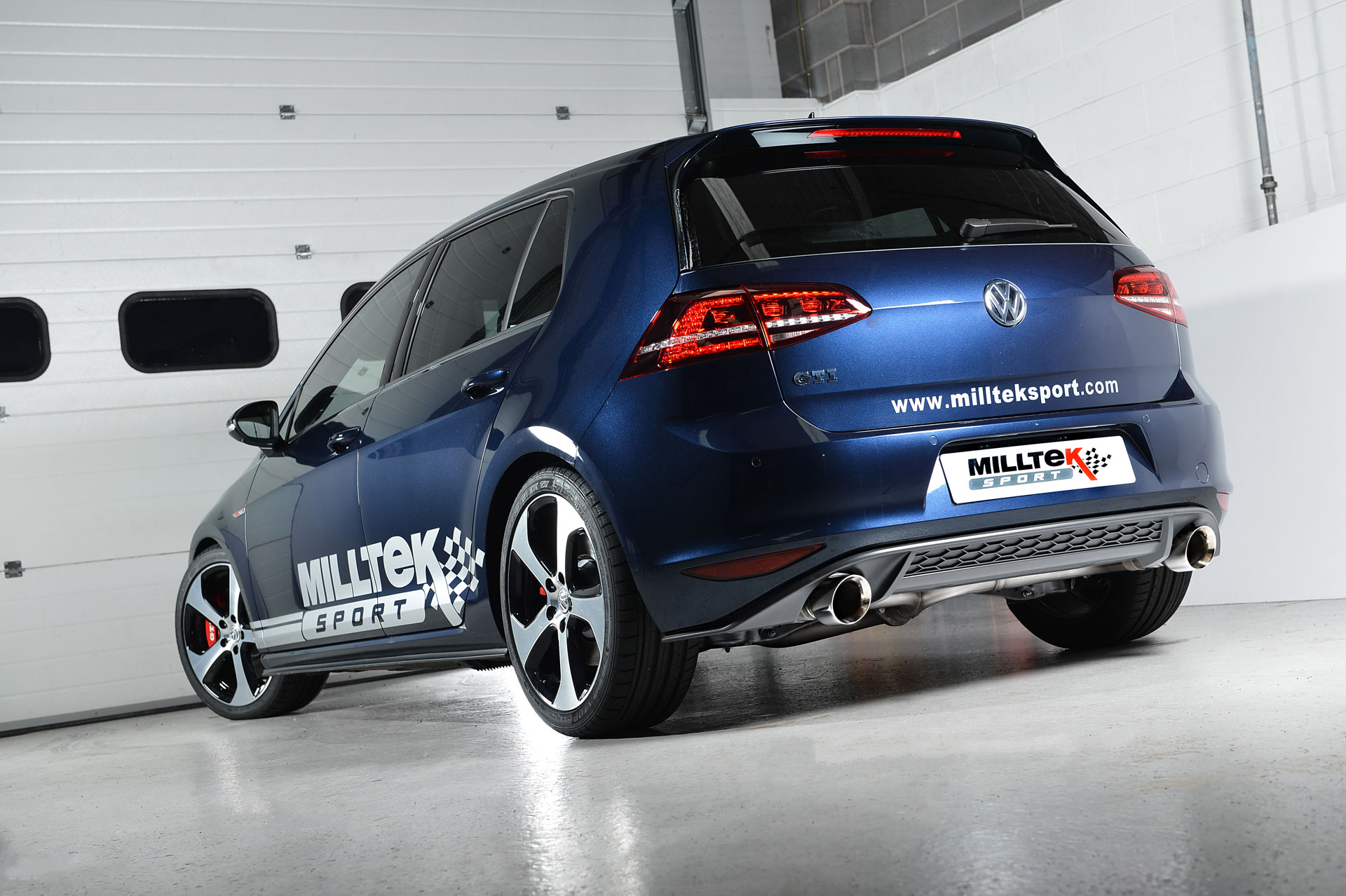 vw golf 7 gti gets milltek performance exhaust. Black Bedroom Furniture Sets. Home Design Ideas