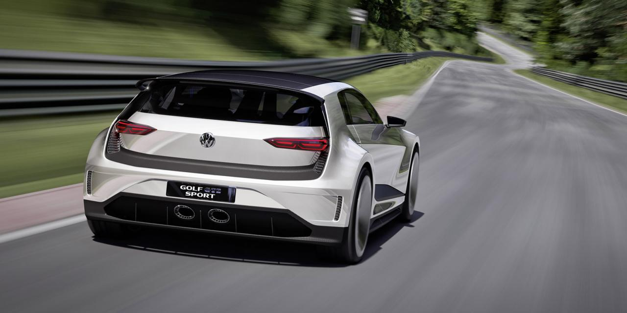 VW Golf GTE Sport Concept Has Gullwing Doors and a Hybrid Heart - autoevolution