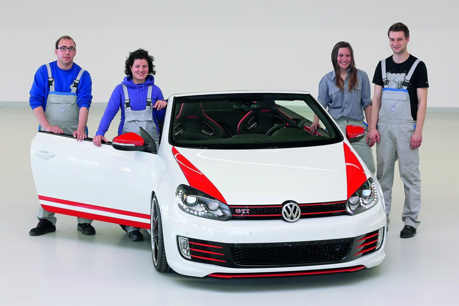 vw golf gti cabrio study unveiled autoevolution. Black Bedroom Furniture Sets. Home Design Ideas