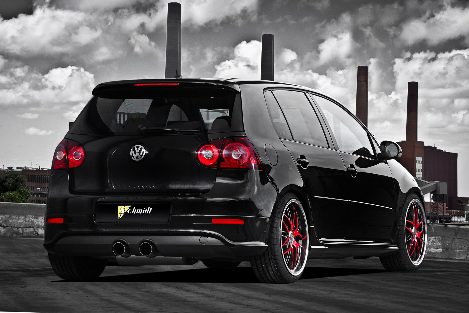 vw golf gti mk v tuned by schmidt revolution autoevolution. Black Bedroom Furniture Sets. Home Design Ideas