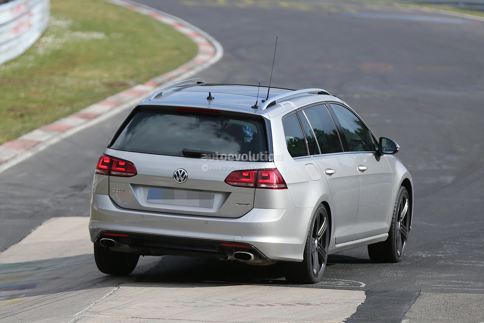 Golf R Estate Hits The Nurburgring As Carmakers Wage War