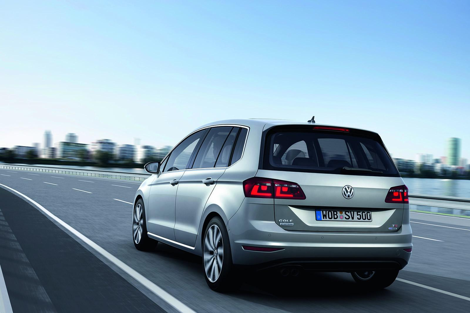 VW Golf Sportsvan Concept Unveiled, Is Actually the Golf Plus - autoevolution